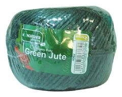 KINGFISHER HDGJ  Twine Green Jute